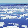 Free Winter View On The Lake. Royalty Free Stock Photography - 35453237