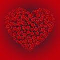 Free Rose Heart Royalty Free Stock Image - 35453396