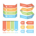 Free Option Banner Infographics Set Stock Images - 35456104