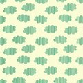 Free Strip Clouds Seamless Pattern Stock Photos - 35457243