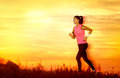 Free Active Woman Jogging Royalty Free Stock Photography - 35458747
