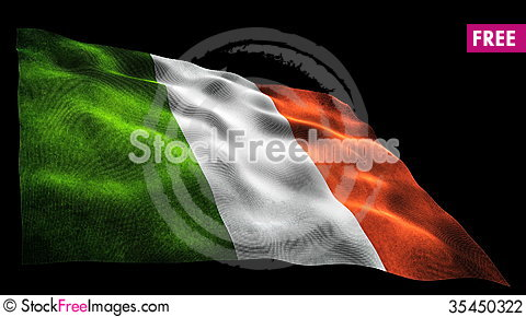Free Italy Flag Stock Photography - 35450322