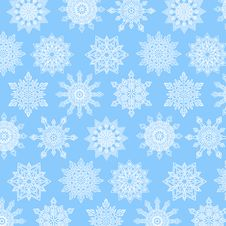 Free Elegant Snowflakes Background Stock Image - 35450521