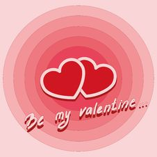 Free Valentine Card Royalty Free Stock Photos - 35450798