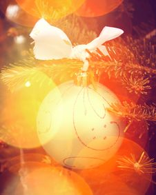 Free Christmas Ornament Royalty Free Stock Photography - 35453107