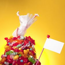 Free Head Over Heal In Candy And Love Stock Photos - 35453383