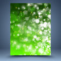 Free Green And White Bokeh Abstract Background Stock Image - 35462601