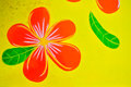 Free Frangipani Flowers Paint Royalty Free Stock Photos - 35466838