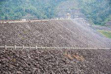 Free Wachirawut Dam In Thailand Royalty Free Stock Photography - 35466267
