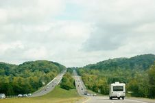 Free Tennessee State  Roads And Nature Royalty Free Stock Photos - 35466558