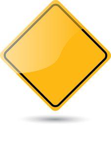 Free Traffic Sign - Warning Stock Photo - 35467990