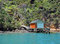 Free Boat House In The Marlborough Sounds, New Zealand. Royalty Free Stock Images - 35466869