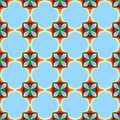Free Colorful, Bright Seamless Pattern Royalty Free Stock Photo - 35472515