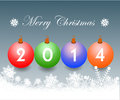 Free Christmas Greeting Card. Merry Christmas Lettering,  Illustration Stock Photos - 35473293