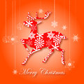 Free Christmas Greeting Card. Merry Christmas Lettering,  Illustration Stock Images - 35473394