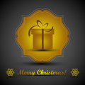 Free Christmas Greeting Card. Merry Christmas Lettering,  Illustration Stock Images - 35473454