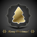 Free Christmas Greeting Card. Merry Christmas Lettering,  Illustration Stock Image - 35473461