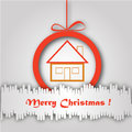 Free Christmas Greeting Card. Merry Christmas Lettering,  Illustration Stock Photography - 35473472