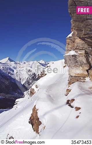 Free Alpine Landscape Stock Photos - 35473453