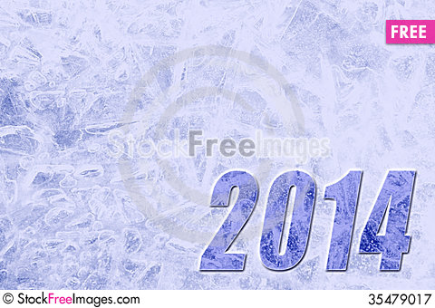 Free New Year 2014 Background Royalty Free Stock Photography - 35479017