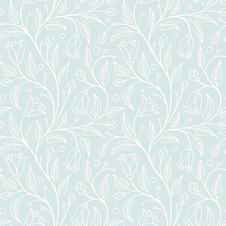 Free Seamless Floral Pattern Royalty Free Stock Photo - 35470845