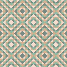 Free Seamless Pattern With Diamond Design Royalty Free Stock Photo - 35470905