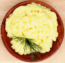 Free Mashed Potato Stock Photo - 35473700