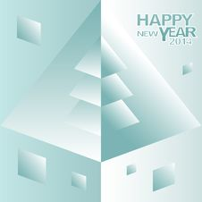 Abstract Happy New Year Background Royalty Free Stock Image