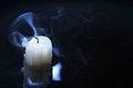 Free Extinguished Candle Stock Image - 35481101