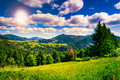 Free Meadow In Mountains Royalty Free Stock Image - 35489386