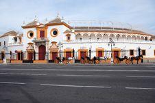 Free Seville Plaza De Toros Stock Photos - 35481203