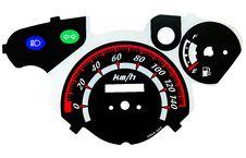 Free Motorcycle Tachometer Royalty Free Stock Photo - 35485525