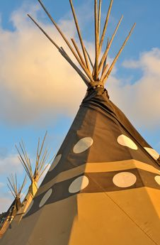 Free Tipis Stock Photos - 35485593