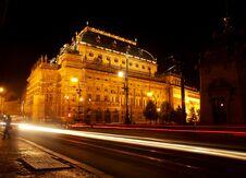 Free Prague Theatre Stock Images - 35492674
