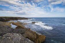 Free Ocean Shore On Hook Head Peninsula Royalty Free Stock Photo - 35492695