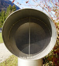 Free Lattice Of A Ventilating Pipe. Royalty Free Stock Photography - 3550907