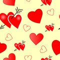 Free Seamless Valentine Royalty Free Stock Images - 3551299