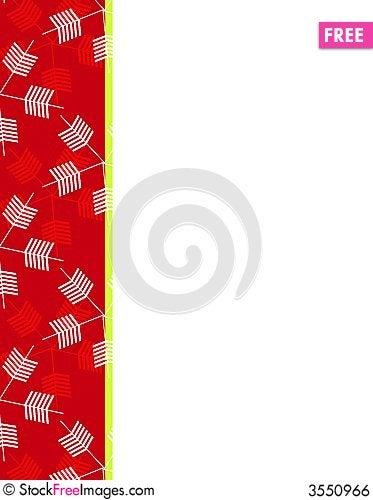 Free Snowflakes Christmas Border 3 Royalty Free Stock Image - 3550966
