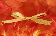 Free Christmas Ribbon Stock Photography - 3550102