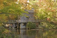Free Grist Mill Royalty Free Stock Images - 3550149