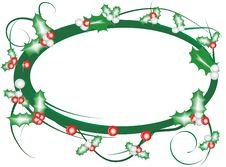 Free Christmas Frame Royalty Free Stock Images - 3550279