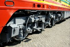 Free Modern Locomotive - Wheels Stock Images - 3551814