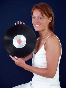 Free Vinyl & CD Royalty Free Stock Photo - 3551875
