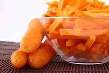 Free Fresh Carrot Juice Isolated Stock Images - 3552014