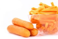 Free Fresh Carrot Juice Isolated Stock Image - 3552181