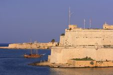 Free Fort St Angelo, Malta (1) Royalty Free Stock Images - 3552389