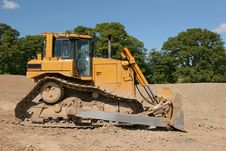Free Bulldozer Royalty Free Stock Photo - 3552605