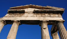 Free Greek Columns Royalty Free Stock Images - 3553029