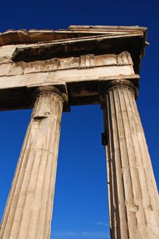 Free Greek Colums Royalty Free Stock Photos - 3553068
