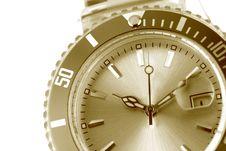 Free Wristwatch Detail Stock Image - 3553431